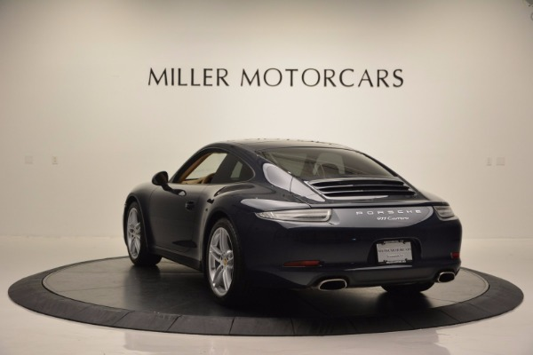 Used 2014 Porsche 911 Carrera for sale Sold at Rolls-Royce Motor Cars Greenwich in Greenwich CT 06830 5
