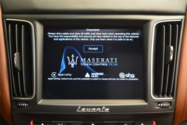 New 2017 Maserati Levante S for sale Sold at Rolls-Royce Motor Cars Greenwich in Greenwich CT 06830 27