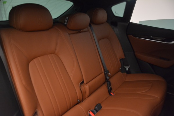New 2017 Maserati Levante for sale Sold at Rolls-Royce Motor Cars Greenwich in Greenwich CT 06830 22