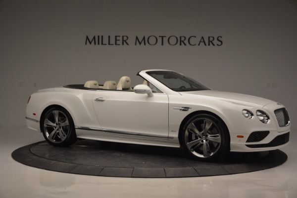 New 2017 Bentley Continental GT Speed Convertible for sale Sold at Rolls-Royce Motor Cars Greenwich in Greenwich CT 06830 10