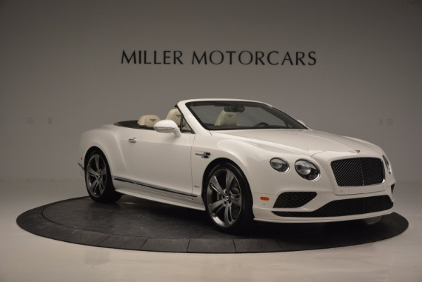 New 2017 Bentley Continental GT Speed Convertible for sale Sold at Rolls-Royce Motor Cars Greenwich in Greenwich CT 06830 11