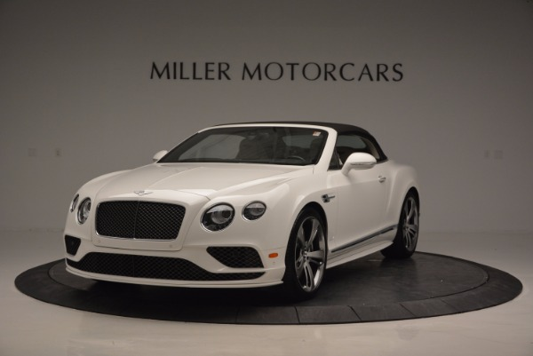 New 2017 Bentley Continental GT Speed Convertible for sale Sold at Rolls-Royce Motor Cars Greenwich in Greenwich CT 06830 13