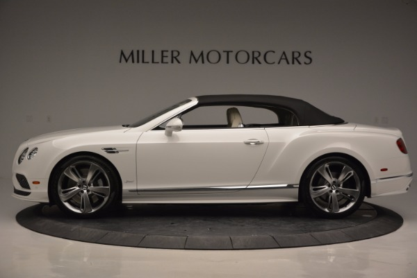 New 2017 Bentley Continental GT Speed Convertible for sale Sold at Rolls-Royce Motor Cars Greenwich in Greenwich CT 06830 15