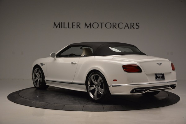 New 2017 Bentley Continental GT Speed Convertible for sale Sold at Rolls-Royce Motor Cars Greenwich in Greenwich CT 06830 17