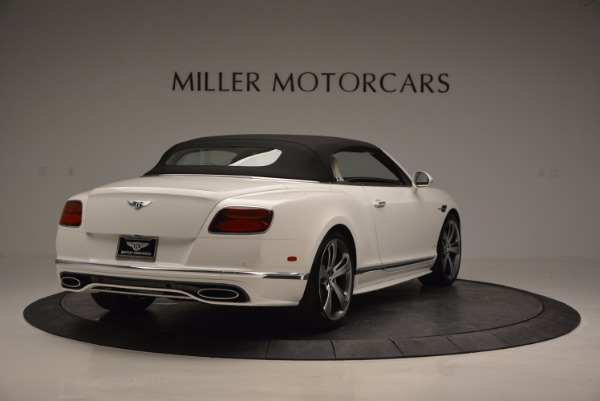 New 2017 Bentley Continental GT Speed Convertible for sale Sold at Rolls-Royce Motor Cars Greenwich in Greenwich CT 06830 19