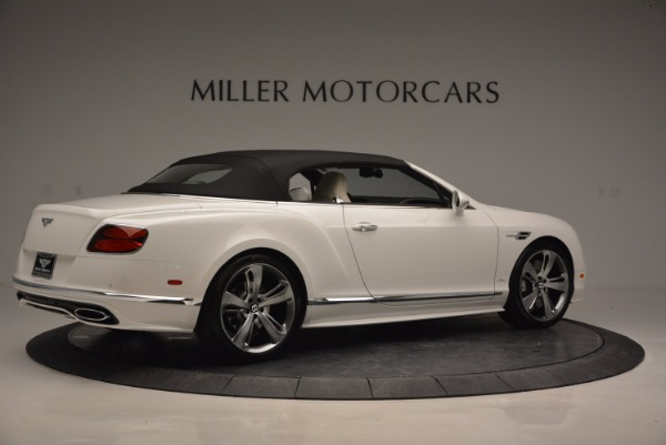 New 2017 Bentley Continental GT Speed Convertible for sale Sold at Rolls-Royce Motor Cars Greenwich in Greenwich CT 06830 20
