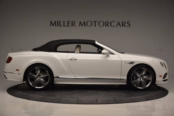 New 2017 Bentley Continental GT Speed Convertible for sale Sold at Rolls-Royce Motor Cars Greenwich in Greenwich CT 06830 21