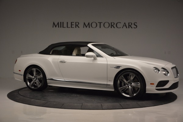 New 2017 Bentley Continental GT Speed Convertible for sale Sold at Rolls-Royce Motor Cars Greenwich in Greenwich CT 06830 22
