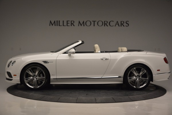 New 2017 Bentley Continental GT Speed Convertible for sale Sold at Rolls-Royce Motor Cars Greenwich in Greenwich CT 06830 3