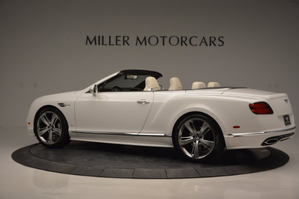 New 2017 Bentley Continental GT Speed Convertible for sale Sold at Rolls-Royce Motor Cars Greenwich in Greenwich CT 06830 4