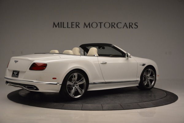 New 2017 Bentley Continental GT Speed Convertible for sale Sold at Rolls-Royce Motor Cars Greenwich in Greenwich CT 06830 8