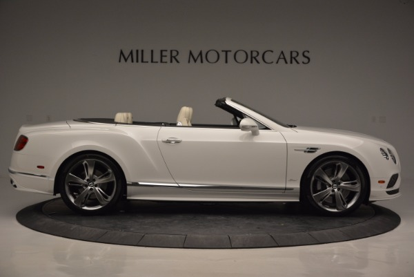 New 2017 Bentley Continental GT Speed Convertible for sale Sold at Rolls-Royce Motor Cars Greenwich in Greenwich CT 06830 9