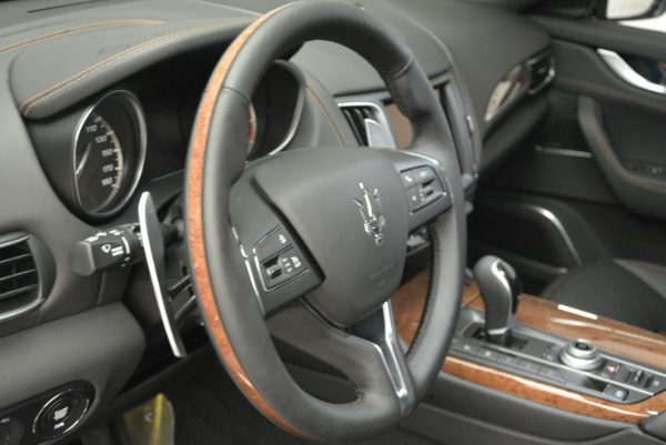 Used 2017 Maserati Levante S Ex Service Loaner for sale Sold at Rolls-Royce Motor Cars Greenwich in Greenwich CT 06830 19