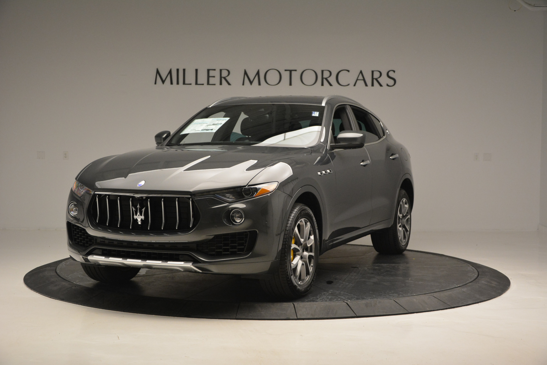 Used 2017 Maserati Levante S Ex Service Loaner for sale Sold at Rolls-Royce Motor Cars Greenwich in Greenwich CT 06830 1