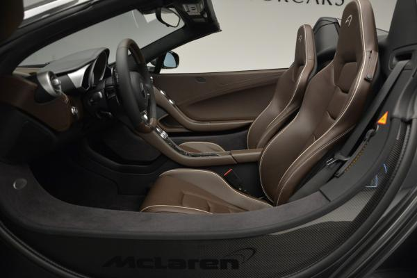Used 2016 McLaren 650S SPIDER Convertible for sale Sold at Rolls-Royce Motor Cars Greenwich in Greenwich CT 06830 22