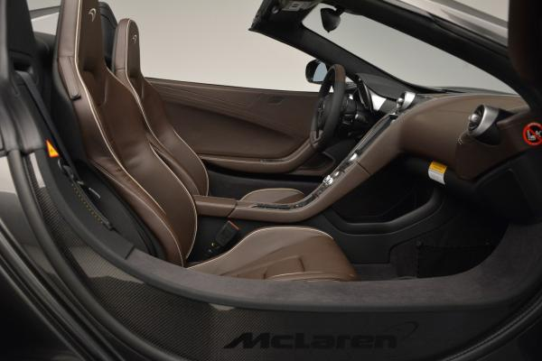 Used 2016 McLaren 650S SPIDER Convertible for sale Sold at Rolls-Royce Motor Cars Greenwich in Greenwich CT 06830 26