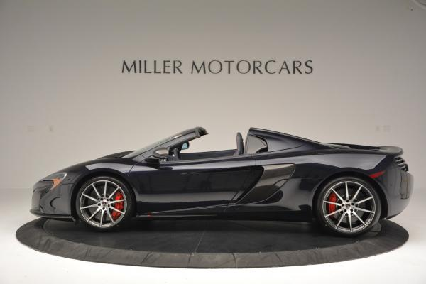 New 2016 McLaren 650S Spider for sale Sold at Rolls-Royce Motor Cars Greenwich in Greenwich CT 06830 3