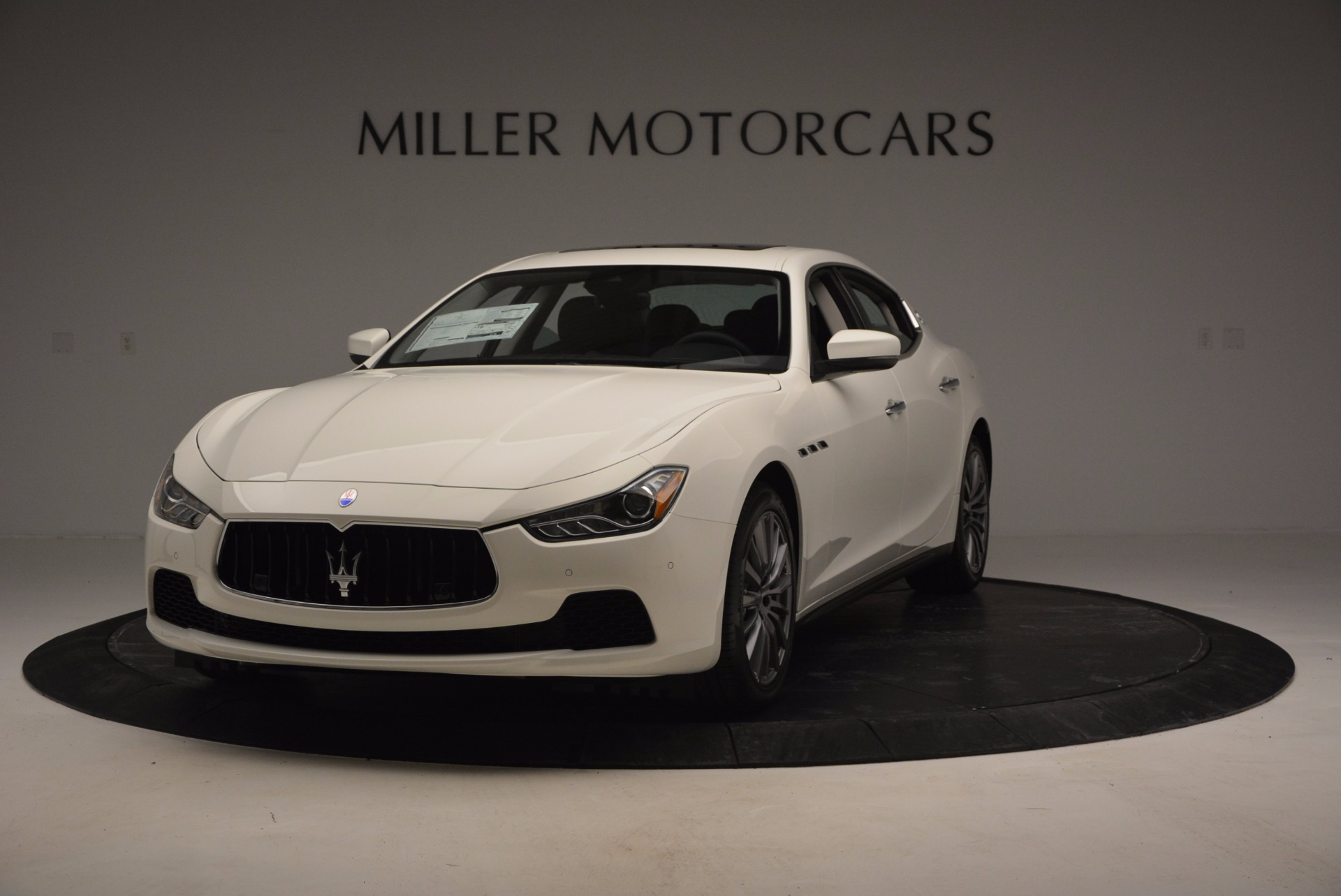 Used 2017 Maserati Ghibli S Q4 Ex-Loaner for sale Sold at Rolls-Royce Motor Cars Greenwich in Greenwich CT 06830 1