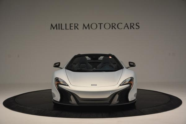 New 2016 McLaren 650S Spider for sale Sold at Rolls-Royce Motor Cars Greenwich in Greenwich CT 06830 12