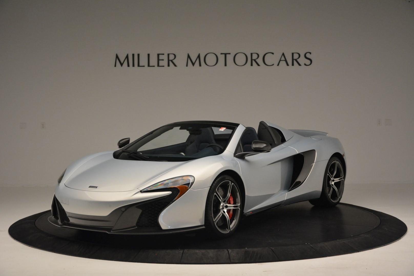New 2016 McLaren 650S Spider for sale Sold at Rolls-Royce Motor Cars Greenwich in Greenwich CT 06830 1