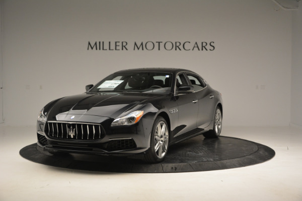 New 2017 Maserati Quattroporte S Q4 GranLusso for sale Sold at Rolls-Royce Motor Cars Greenwich in Greenwich CT 06830 1