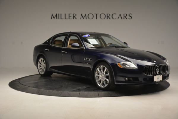 Used 2010 Maserati Quattroporte S for sale Sold at Rolls-Royce Motor Cars Greenwich in Greenwich CT 06830 11