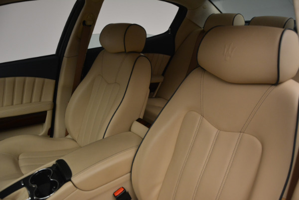 Used 2010 Maserati Quattroporte S for sale Sold at Rolls-Royce Motor Cars Greenwich in Greenwich CT 06830 13