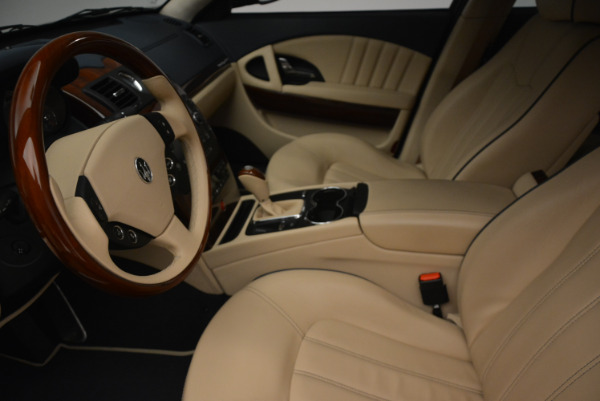 Used 2010 Maserati Quattroporte S for sale Sold at Rolls-Royce Motor Cars Greenwich in Greenwich CT 06830 14