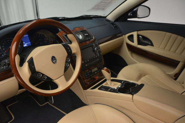 Used 2010 Maserati Quattroporte S for sale Sold at Rolls-Royce Motor Cars Greenwich in Greenwich CT 06830 15