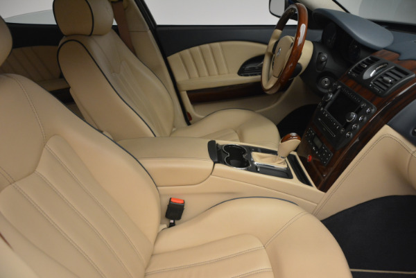 Used 2010 Maserati Quattroporte S for sale Sold at Rolls-Royce Motor Cars Greenwich in Greenwich CT 06830 18