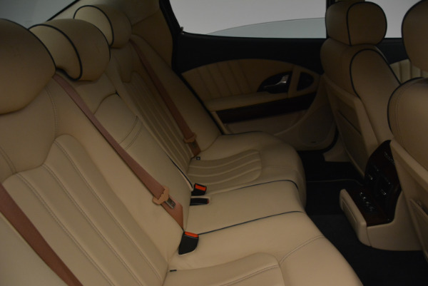Used 2010 Maserati Quattroporte S for sale Sold at Rolls-Royce Motor Cars Greenwich in Greenwich CT 06830 21