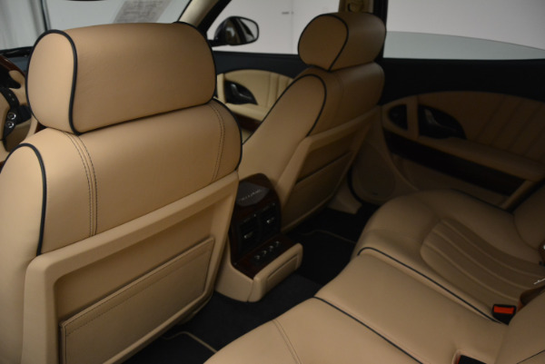 Used 2010 Maserati Quattroporte S for sale Sold at Rolls-Royce Motor Cars Greenwich in Greenwich CT 06830 25