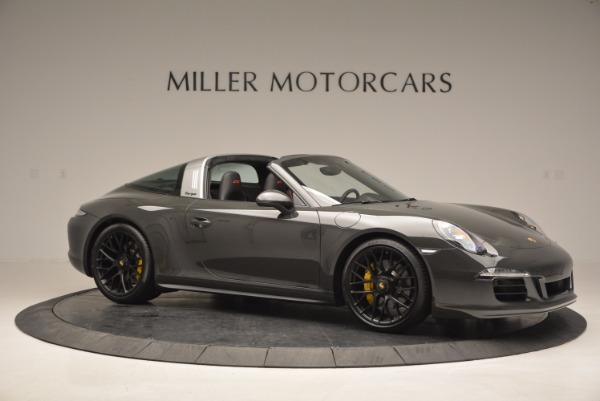 Used 2016 Porsche 911 Targa 4 GTS for sale Sold at Rolls-Royce Motor Cars Greenwich in Greenwich CT 06830 10