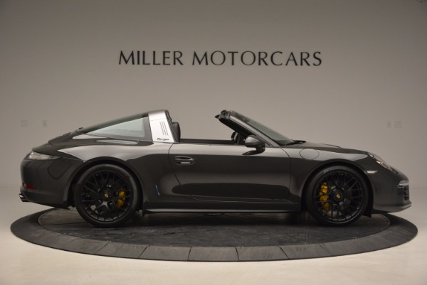Used 2016 Porsche 911 Targa 4 GTS for sale Sold at Rolls-Royce Motor Cars Greenwich in Greenwich CT 06830 9