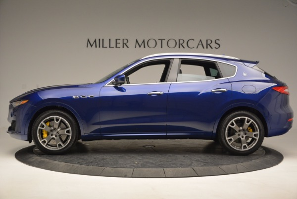 New 2017 Maserati Levante S Q4 for sale Sold at Rolls-Royce Motor Cars Greenwich in Greenwich CT 06830 3