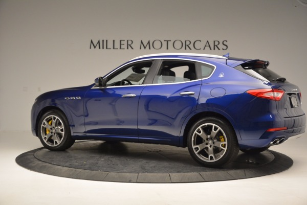 New 2017 Maserati Levante S Q4 for sale Sold at Rolls-Royce Motor Cars Greenwich in Greenwich CT 06830 4