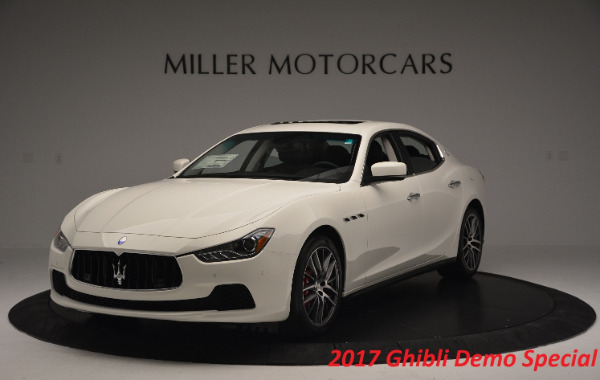 Used 2017 Maserati Ghibli S Q4 for sale Sold at Rolls-Royce Motor Cars Greenwich in Greenwich CT 06830 2