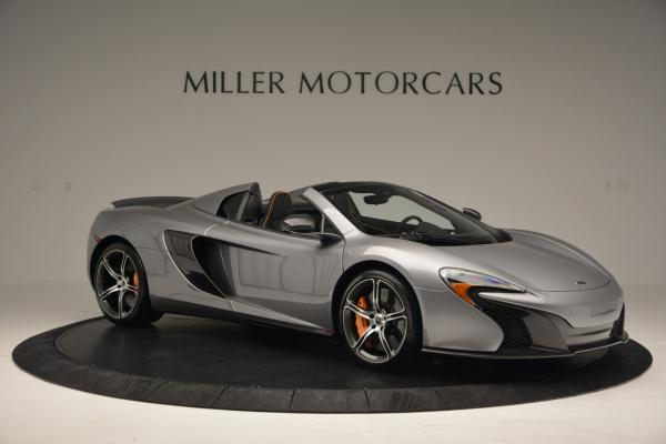 Used 2016 McLaren 650S SPIDER Convertible for sale Sold at Rolls-Royce Motor Cars Greenwich in Greenwich CT 06830 10