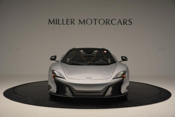 Used 2016 McLaren 650S SPIDER Convertible for sale Sold at Rolls-Royce Motor Cars Greenwich in Greenwich CT 06830 12