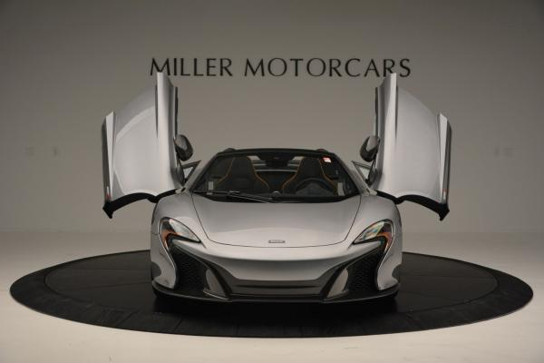 Used 2016 McLaren 650S SPIDER Convertible for sale Sold at Rolls-Royce Motor Cars Greenwich in Greenwich CT 06830 13