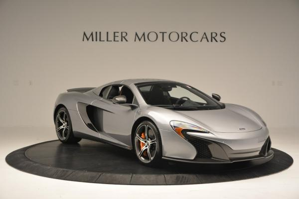 Used 2016 McLaren 650S SPIDER Convertible for sale Sold at Rolls-Royce Motor Cars Greenwich in Greenwich CT 06830 20