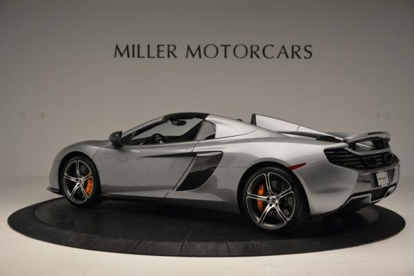 Used 2016 McLaren 650S SPIDER Convertible for sale Sold at Rolls-Royce Motor Cars Greenwich in Greenwich CT 06830 4