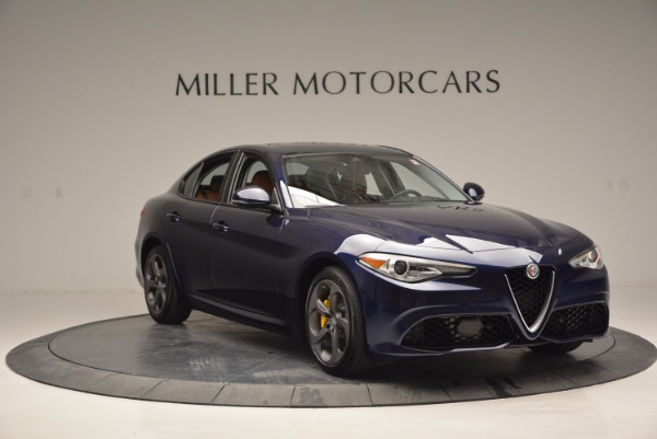 New 2017 Alfa Romeo Giulia Q4 for sale Sold at Rolls-Royce Motor Cars Greenwich in Greenwich CT 06830 11
