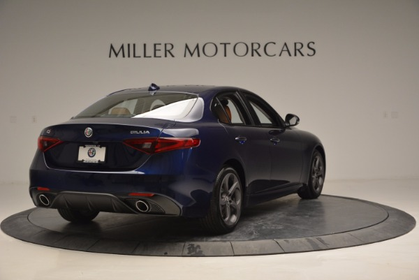 New 2017 Alfa Romeo Giulia Q4 for sale Sold at Rolls-Royce Motor Cars Greenwich in Greenwich CT 06830 7
