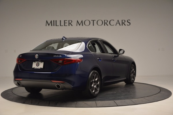 New 2017 Alfa Romeo Giulia for sale Sold at Rolls-Royce Motor Cars Greenwich in Greenwich CT 06830 7
