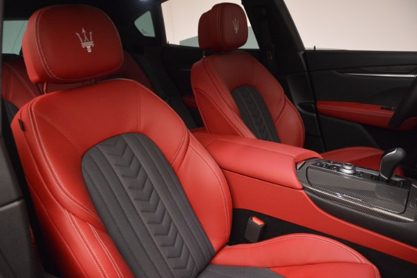 New 2017 Maserati Levante S Zegna Edition for sale Sold at Rolls-Royce Motor Cars Greenwich in Greenwich CT 06830 25