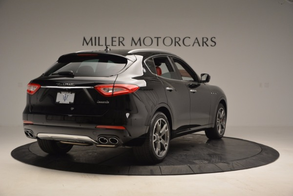 New 2017 Maserati Levante S Zegna Edition for sale Sold at Rolls-Royce Motor Cars Greenwich in Greenwich CT 06830 7
