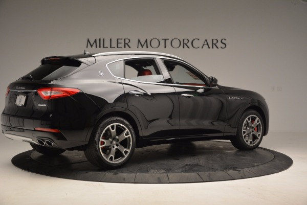 New 2017 Maserati Levante S Zegna Edition for sale Sold at Rolls-Royce Motor Cars Greenwich in Greenwich CT 06830 8