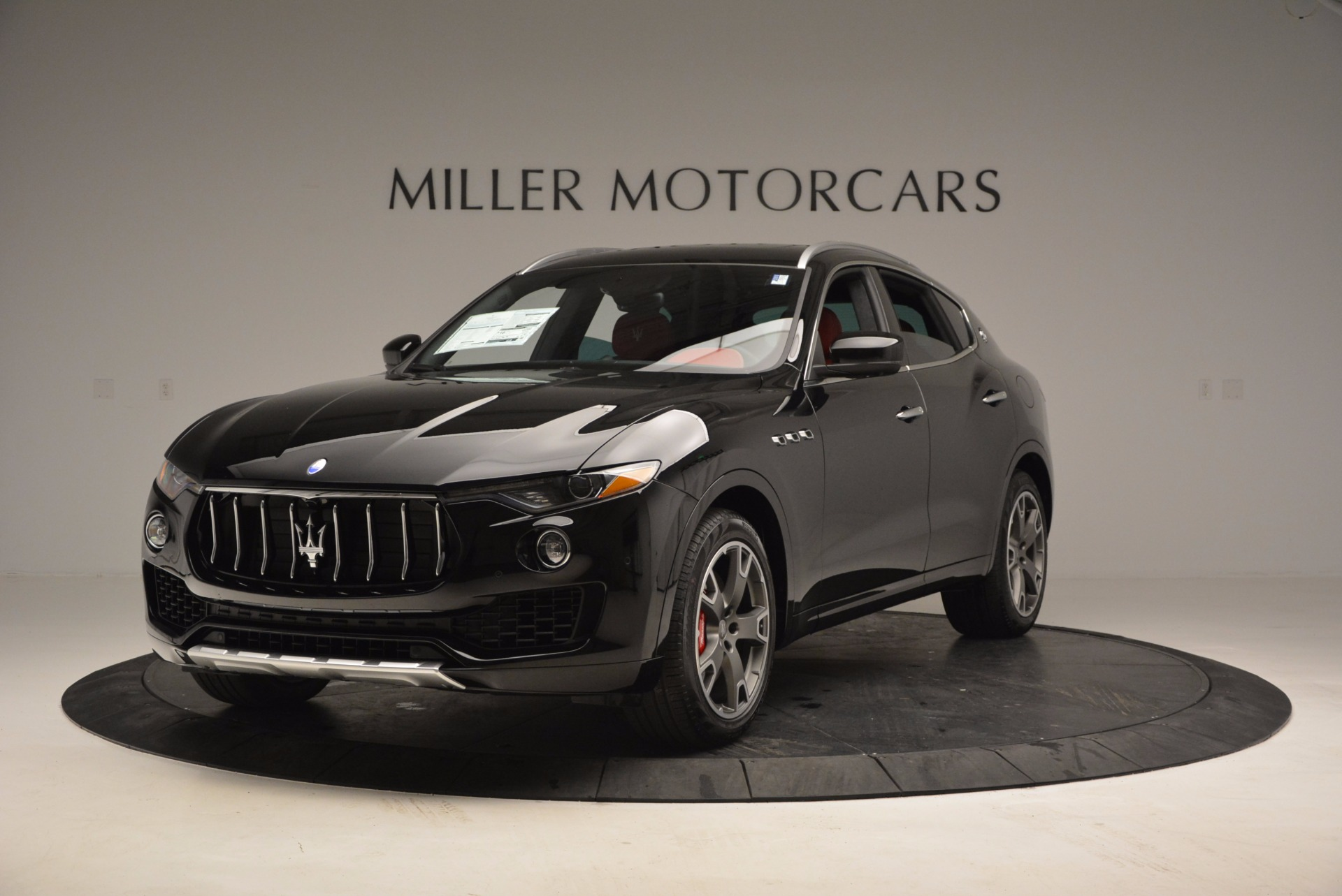 New 2017 Maserati Levante S Zegna Edition for sale Sold at Rolls-Royce Motor Cars Greenwich in Greenwich CT 06830 1