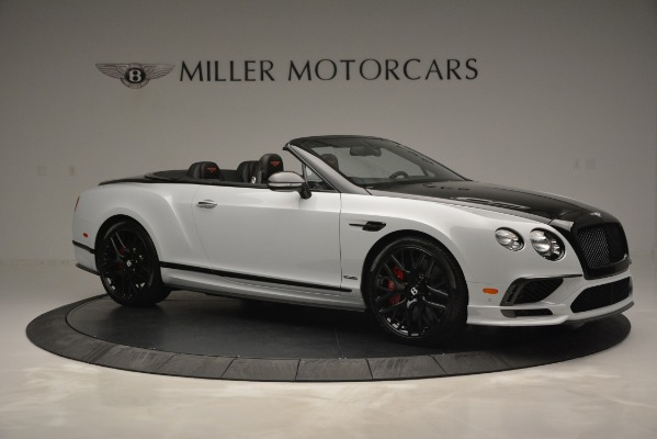 New 2018 Bentley Continental GT Supersports Convertible for sale Sold at Rolls-Royce Motor Cars Greenwich in Greenwich CT 06830 10